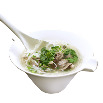 Ароматный суп из баранины 羊肉萝卜粉