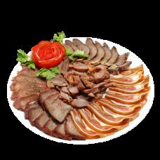 А162. Мясное ассорти с соевым соусом 熟食拼盘