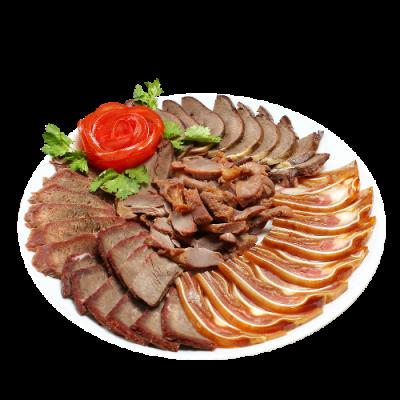Мясное ассорти с соевым соусом 熟食拼盘