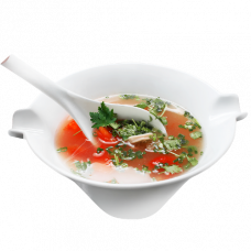 А20. Острый суп с морепродуктами 酸辣银耳汤