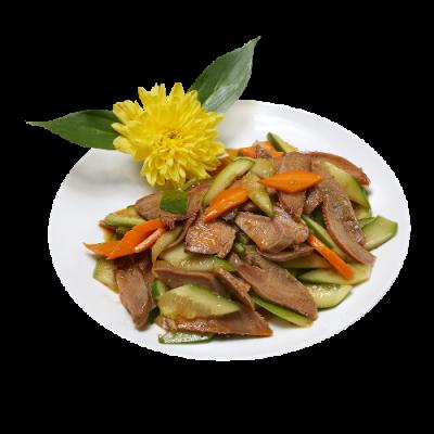 Салат восток 口条拌黄瓜