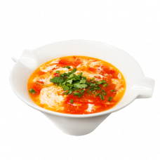 А22. Суп с томатами и яйцом 木须柿子汤