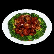 А33. Свиная грудинка с осьминогами 八爪鱼红烧肉