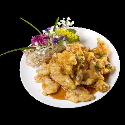 Свинина по-старокитайски «Губаджоу» 锅包肉