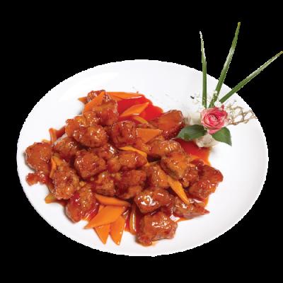 Свинина в кисло-сладком соусе 糖醋肉段